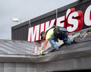 mikes metal roof