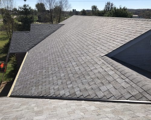 Louisville residential new roof